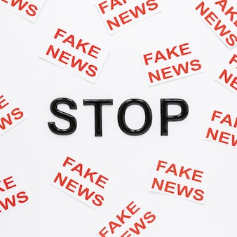 Stop with fake news