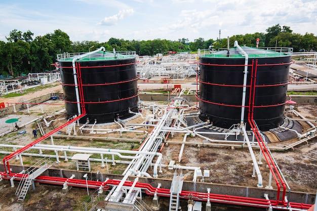저장탱크 원유 및 파이프라인 가스