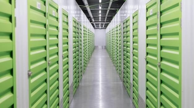 Storage units logistic center