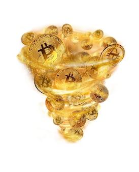 Storm of bitcoins