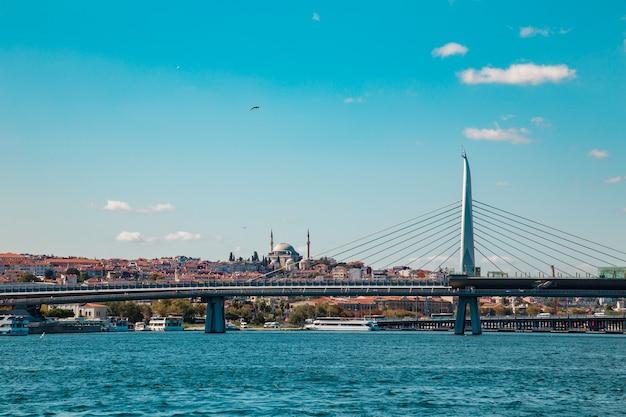 Босфорский пролив и галатский мост.