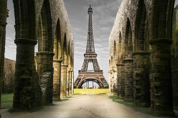 Strange eiffel tower
