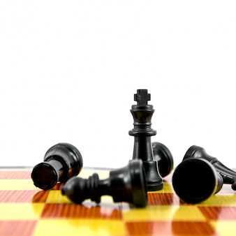 Strategy competition pieces chessboard checkmate