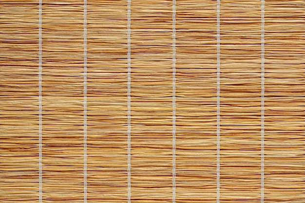 Straw cloth texture of eco placemat or table cloth of renewable organic materials