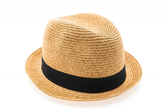 Straw hat for man