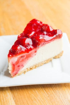 Strawberry cheese cakes