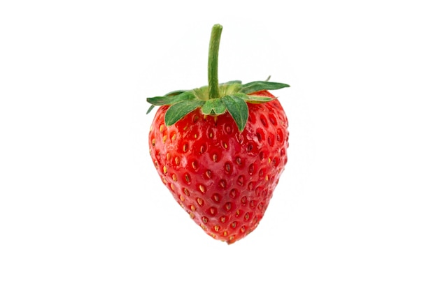 Strawberry fresh red, eat in winter