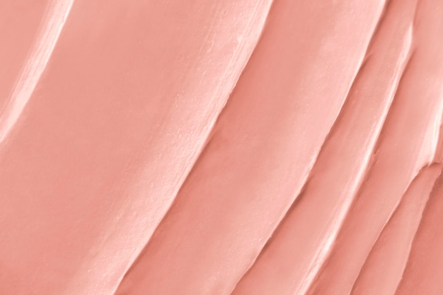 Strawberry frosting texture background close-up