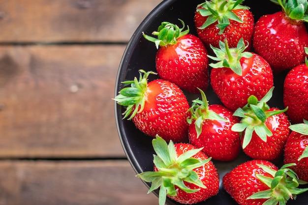 いちごジューシーフルーツフレッシュベリー熟した収穫甘いデザートフード