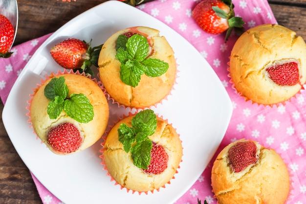 Fragola muffin