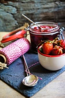 Strawbery jam