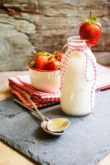 Strawbery yogurt