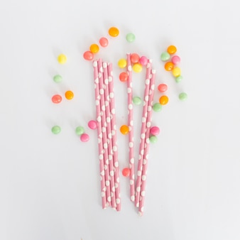 Straws and sweets