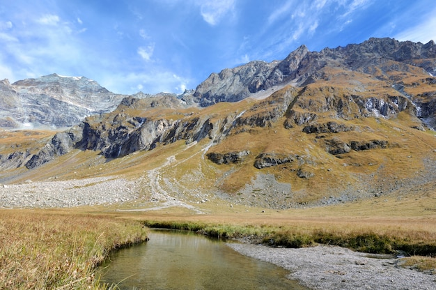 Stream in mountain