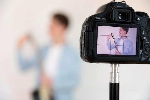 Streaming youtube freelancer recording