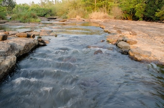 Streamlet in Loei, Thailand