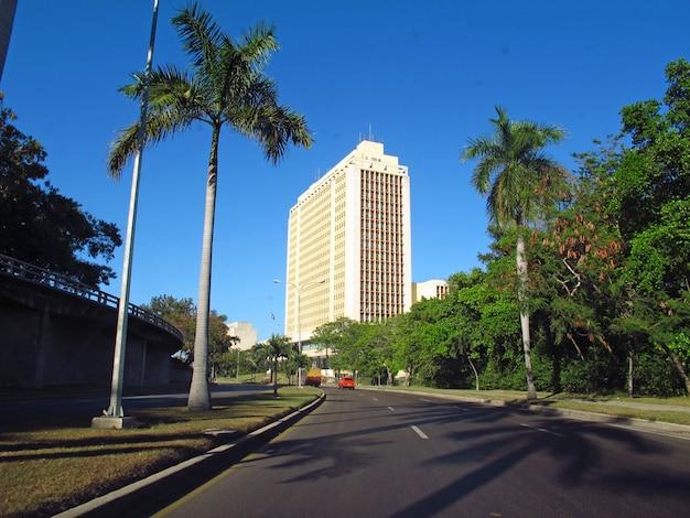 The street in havana, cuba