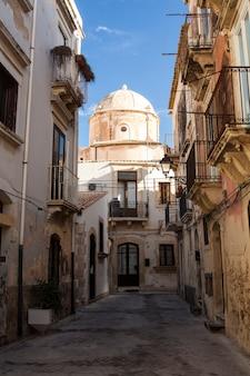 Street of ortigia
