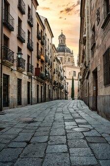 Street of salamanca in spain