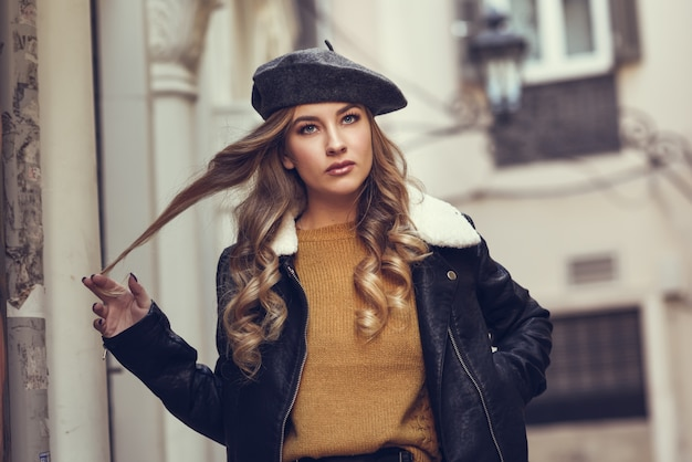 Street style hair person autumn spring