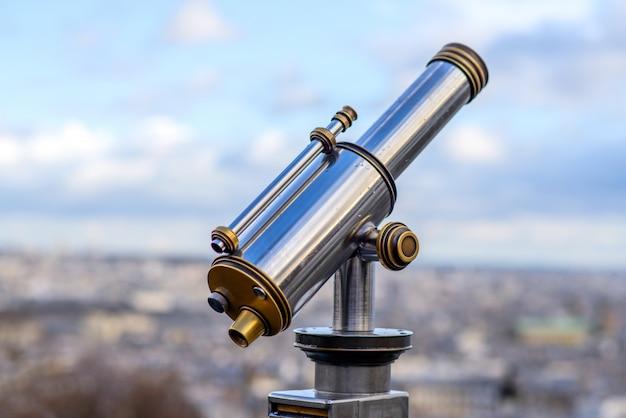 Уличный телескоп