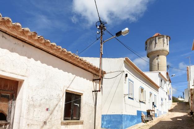Street in the village of vila do bispo, algarve, portugal