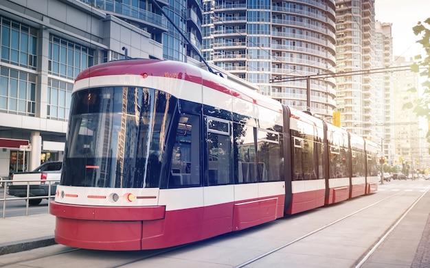 토론토, 온타리오, 캐나다의 전차