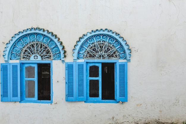 Streets, of tangier. morocco