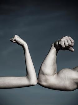 Сравнение прочности. конкуренция, сравнение сил. концепция соперничества.