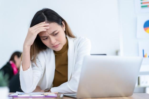 Стресс асаин бизнес-леди