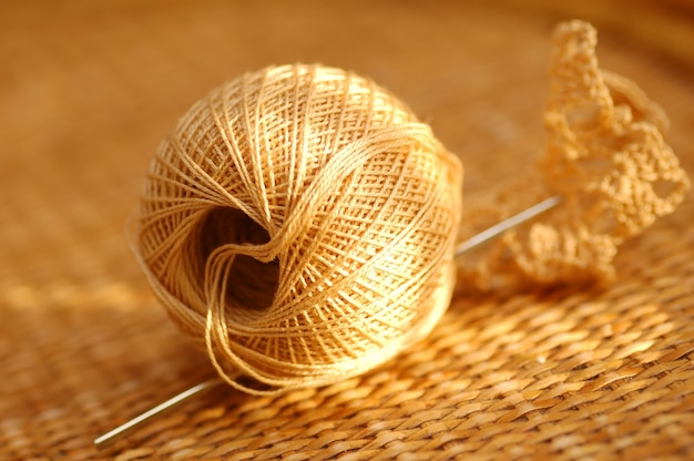 String and needle