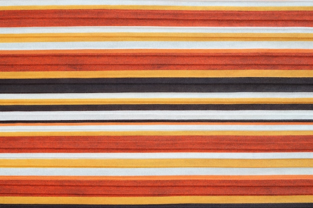 Striped fabric texture background.
