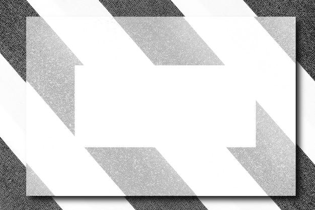 Striped frame mockup