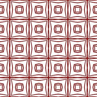 Полосатый узор рисованной. бордовый симметричный фон калейдоскопа. текстильный готовый привлекательный принт, ткань для купальных костюмов, обои, упаковка. повторяя полосатый рисованной плитки.
