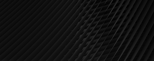 줄무늬 금속 표면 배경입니다. 어두운 추상 질감된 기술 배경입니다. 3d 렌더링.