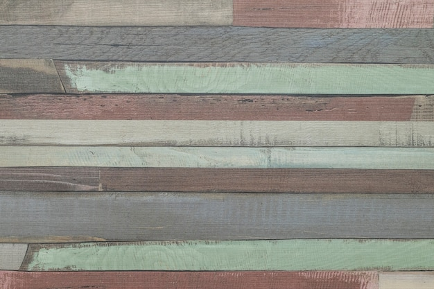 Striped pattern old wooden wall