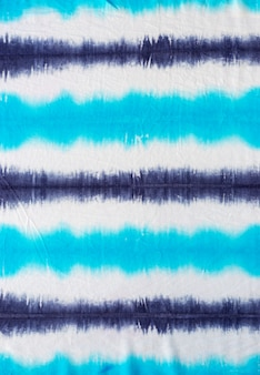 Striped tie dye pattern abstract background