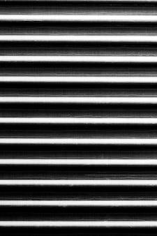 縞模様の錫素材の背景