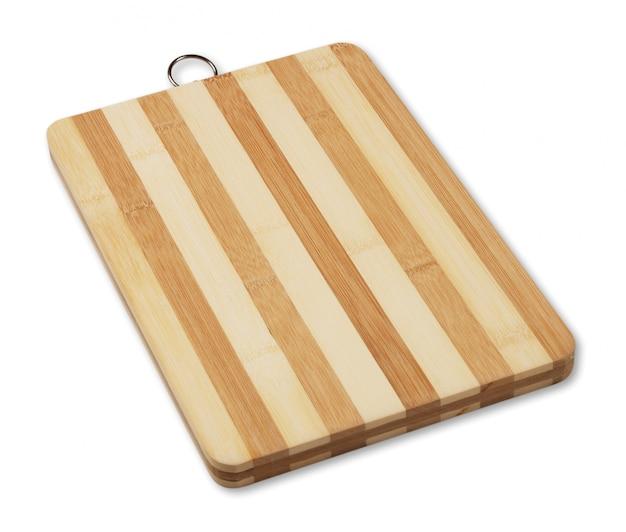 縞模様の木製まな板