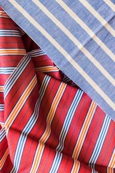 Stripes pattern cotton textile