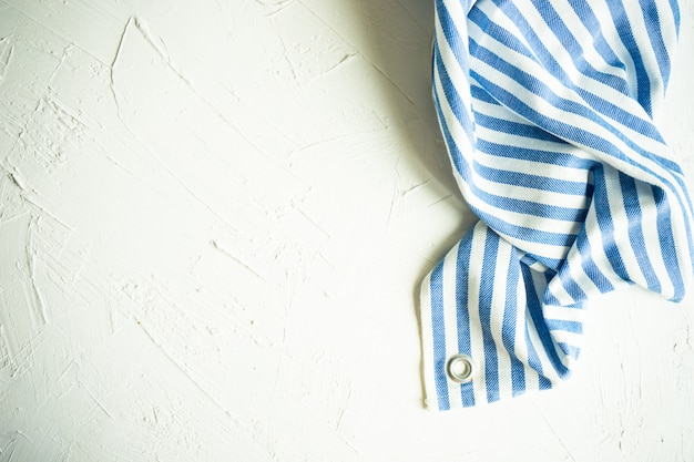 Stripped vintage towel