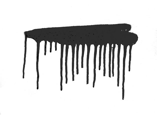 Stroke shape abstract banner splattered