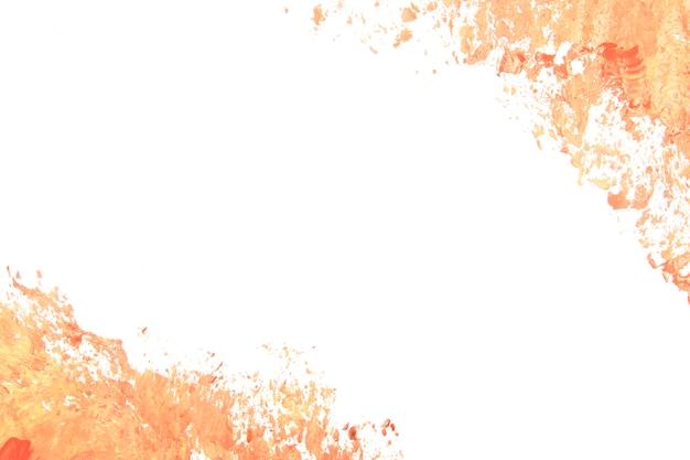 Strokes of peach paint