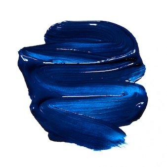 Structural paint blue on white