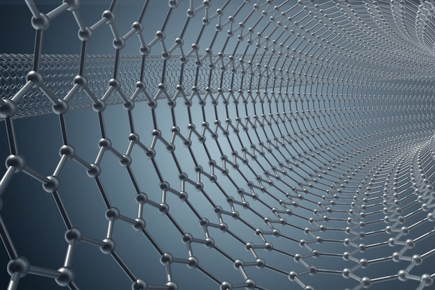 Structure of the graphene tub
