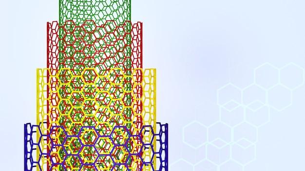 ナノテクノロジーの構造futuremutiウォールドカーボンナノチューブのナノテクノロジー