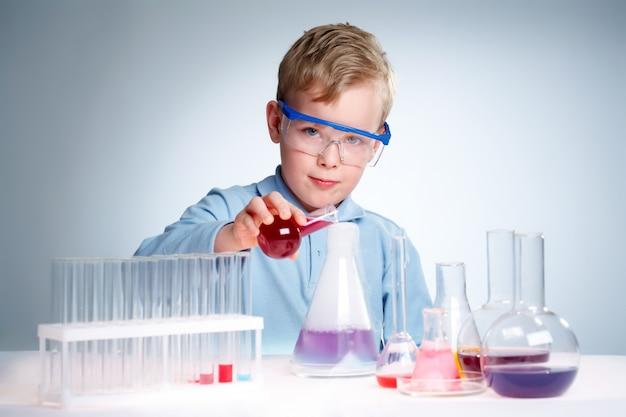Student checking new formulas