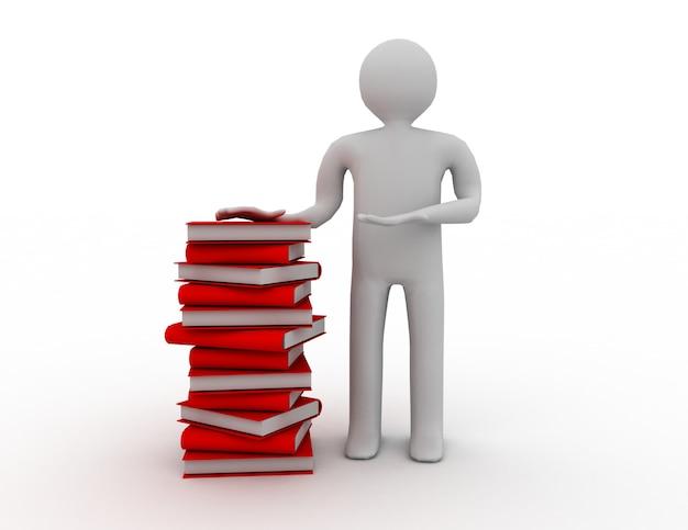ベールの本を持つ学生
