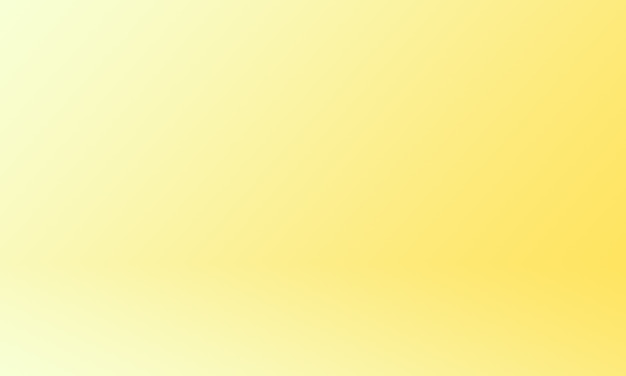 Studio background bright yellow gold gradient