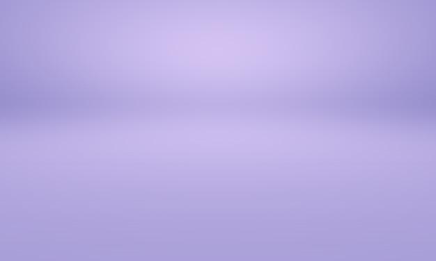 スタジオ背景コンセプト-製品の抽象的な暗いグラデーション紫のスタジオルームの背景。